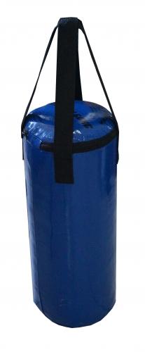 Мешок боксерский Русский бокс 01 на ремнях L-80см d-30см 30кг цв.синий