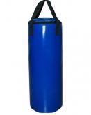 Мешок боксерский Русский бокс 01 на ремнях L-70см d-30см 26кг цв.синий
