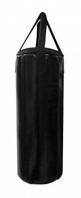 Мешок боксерский Русский бокс 01 на ремнях L-70см d-25см 18кг цв.черный