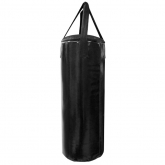 Мешок боксерский Русский бокс 01 на ремнях L-80см d-30см 30кг цв.черный