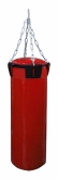Мешок боксерский Русский бокс 02 на цепях L-110см d-30см 42кг цв.красный