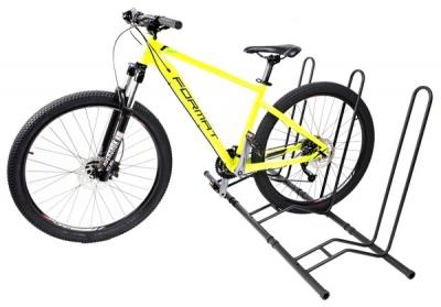 Подставка для горного велосипеда - 2 цв.матовый черный System X