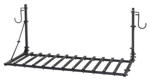 Полка универсальная складная 1320(1440)*590*590 System X цв. черный