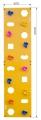Скалодром пристенный 500*2000 стандарт ЭЛЬБРУС (10 зацепов)