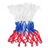 Сетка баскетбольная цветная (пара) цв.бело-сине-красный/цв. бело-красный