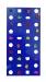 Скалодром пристенный 1000*2000 стандарт ЭЛЬБРУС (20 зацепов)