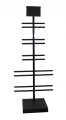 Стойка для самокатов цв.черный SystemX