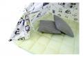 Вигвам Совы (1250*1250*1450мм) цв. белый-салатовый СТАНДАРТ