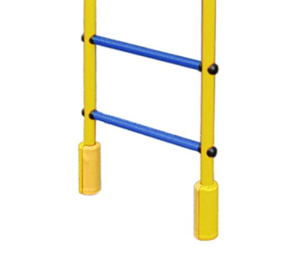 Защитный валик на стойку распорного ДСК(комплект на 2 стойки) цв.желтый